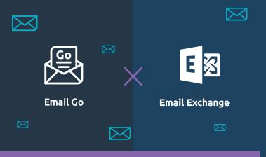 Comparativo de Emails Locaweb